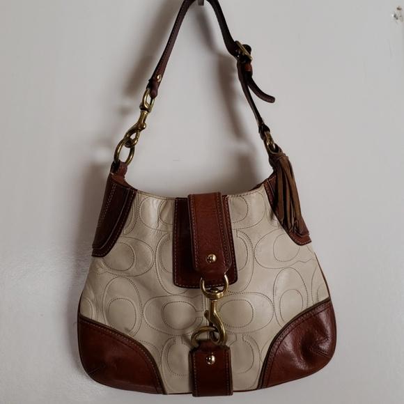 Coach Bags   Leather Shoulder Bag   Poshmark d1092194df